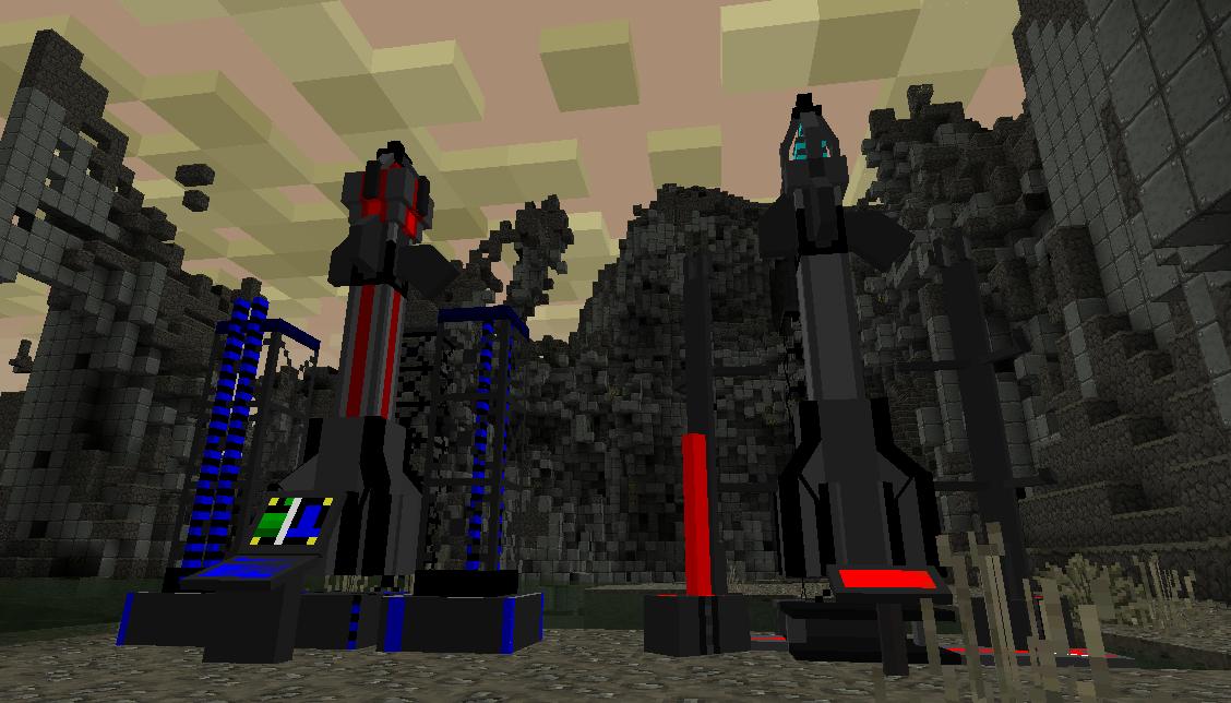 Мод на ракеты | Мод ICBM для Minecraft 1.5.2 - Скачать ...