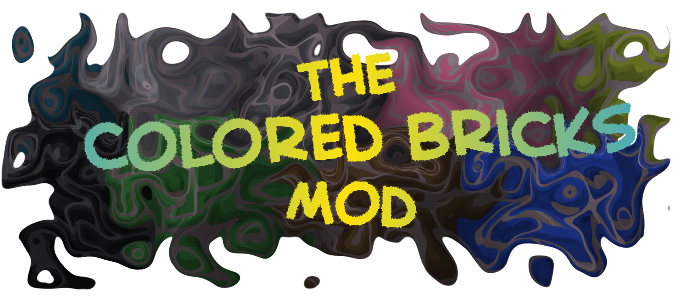 The Colored Bricks Mod для Minecraft [1.4.5]
