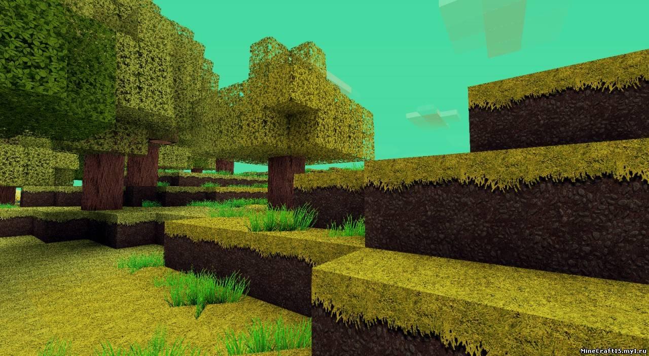 стандартные hd текстуры minecraft: