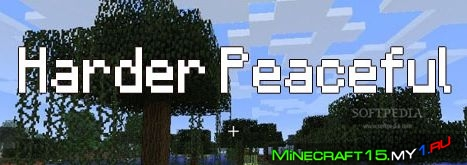Harder Peaceful Mod для Minecraft [1.7.2]