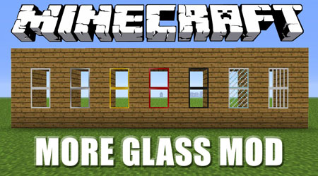 More GLASS MOD для Minecraft [1.4.7]
