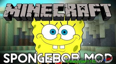 Spongebob Mod для Minecraft [1.4.7]