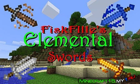 Elemental Swords Mod для Minecraft [1.6.4]