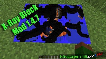 X-Ray Block мод Minecraft [1.4.7]