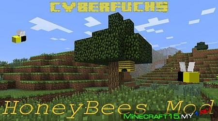 HoneyBees Mod для Minecraft [1.4.7]