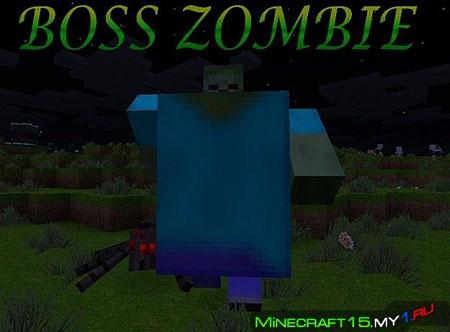 Как сделать в майнкрафте босса зомби 152 видео