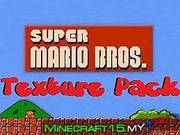 Super Mario Bros текстур пак [16x16] [1.5.2]