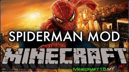 Spider Man Mod для Minecraft [1.7.2]