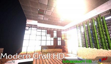 Modern Craft HD ресурс пак [32x32] [1.7]
