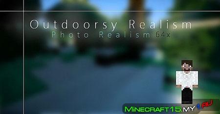 Outdoorsy Realism текстур пак [64x64] [1.5.2]