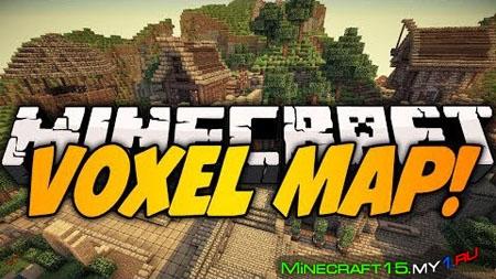 VoxelMap Mod для Minecraft [1.8]
