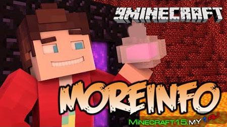 MoreInfo Mod для Minecraft [1.5.2]