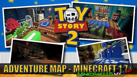 TOY STORY 2 ADVENTURE [Карта] [1.8]