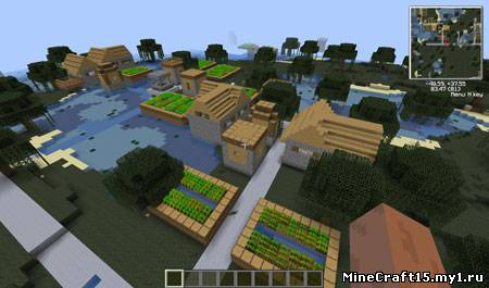 More Village Biomes мод Minecraft [1.4.7]