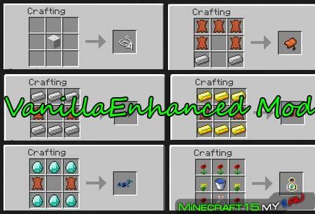 VanillaEnhanced Mod для Minecraft [1.8]