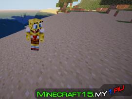 Spongebob Mod для Minecraft [1.6.2]