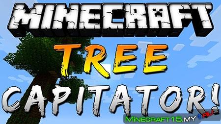 TreeCapitator Mod для Minecraft [1.8]