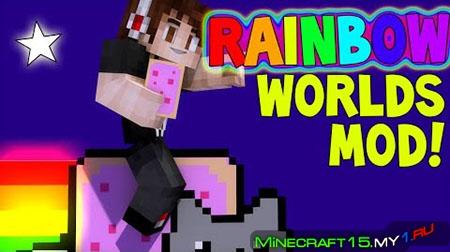 The Rainbow World Mod для Minecraft [1.7.10]
