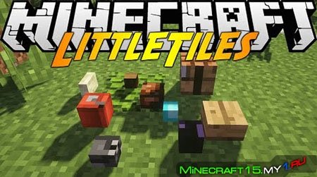 LittleTiles Mod для Minecraft [1.7.10]