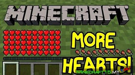 Configurable Health Mod для Minecraft [1.7.10]