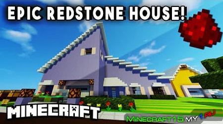 Redstone House [Карта] 1.7 - 1.8