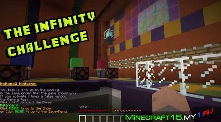 The Infinity Challenge [Карта] [1.8.8 - 1.8]