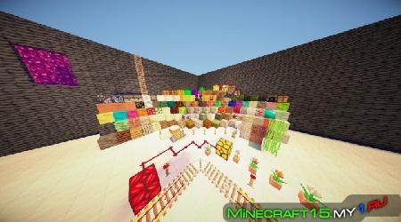 Текстур паки для Minecraft 1.8, 1.7.10, 1.7.2, 1.6.4, 1.5.2