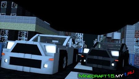 Minecar Racing - Карта 1.9.2 - 1.9