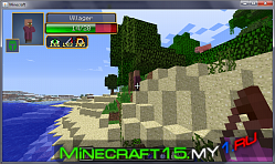 Мод Damage Indicators для Minecraft 1.7.2