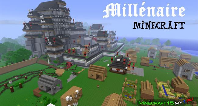 Мод Millenaire чтобы Minecraft 0.8