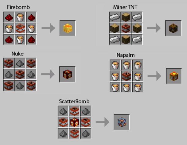 [1.4.7] Too Much TNT - 10 новых TNT » Майнкрафт, все о ...