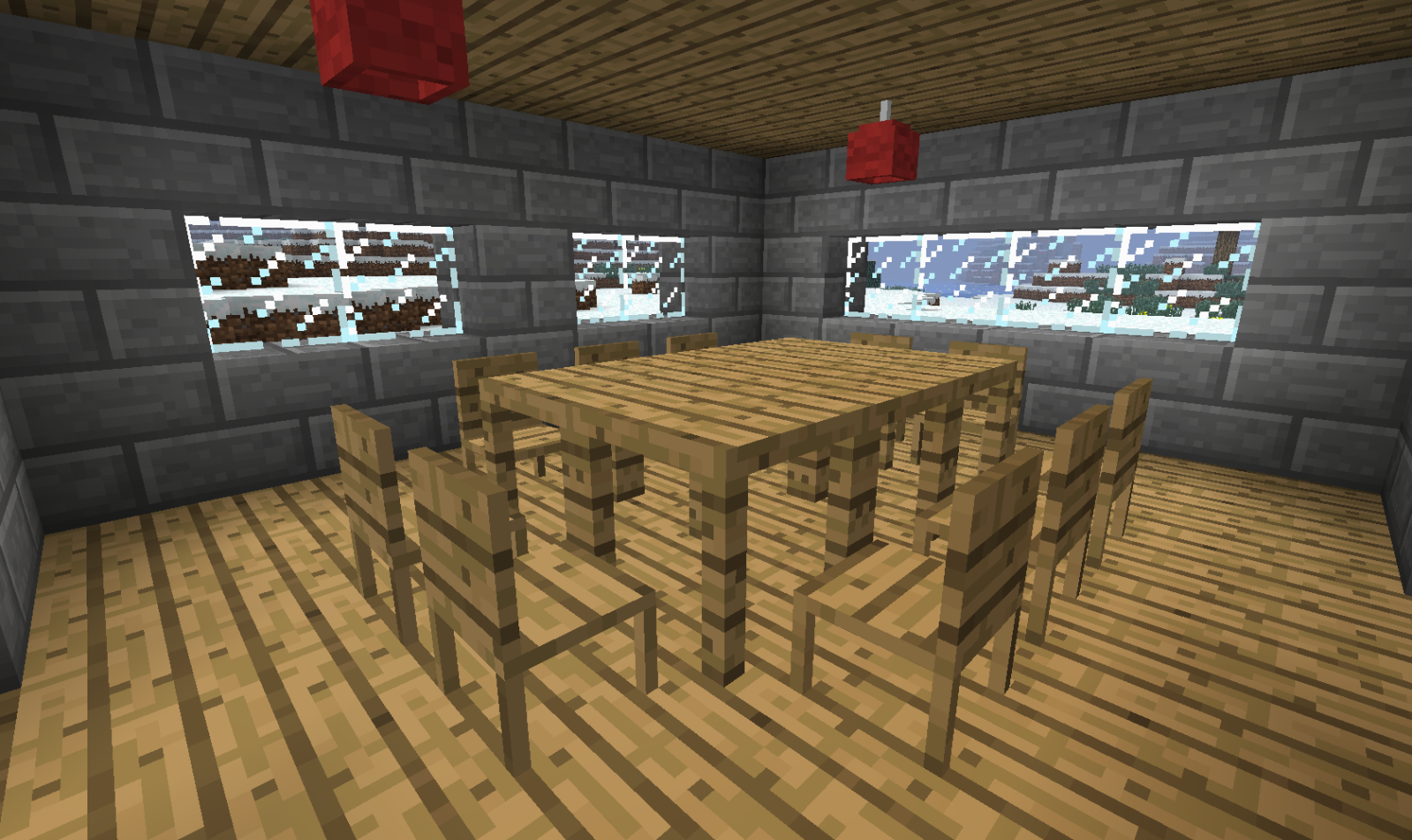 Скачать мод на мебель для Minecraft PE 1 4