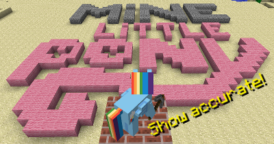 Mine Little Pony Mod для Minecraft [1.5.2]