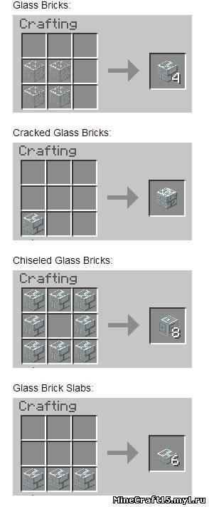 Как в майнкрафте в выживание сделать стекло в
