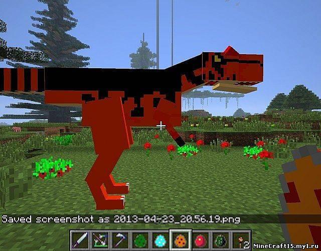 Майнкрафт с Модами Выживание с ДИНОЗАВРАМИ (Minecraft с ...